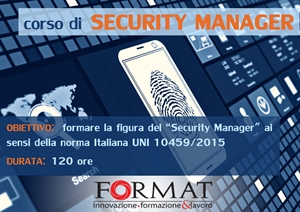 CORSO PER SECURITY MANAGER
